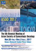 ASGO 2017: The 5th Biennial Meeting of Asian Society of Gynecologic Oncology